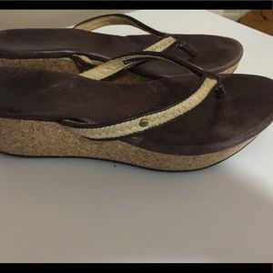 Ugg sandals size 6.5 GUC